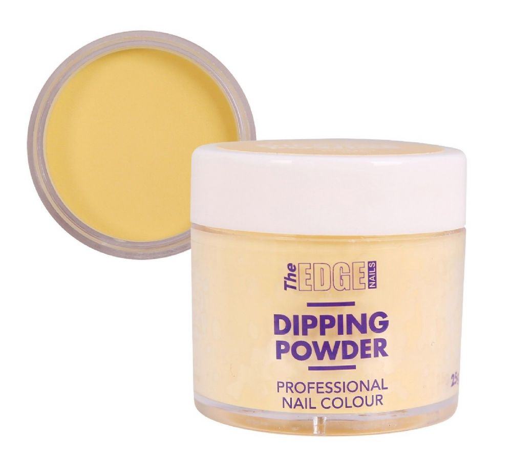 EDGE COLOURED QUICK NAIL ACRYLIC DIPPING POWDER - HONEY BEE